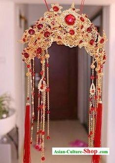 Ancient Chinese Wedding Phoenix Crown