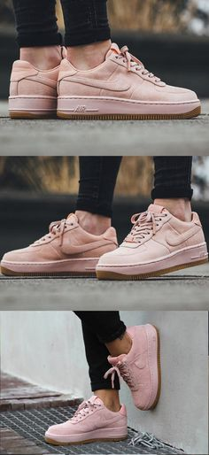 #Nike Wmns Air Force 1 Upstep LX #ArcticOrange