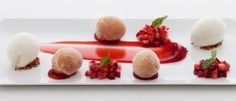 Dessert - made from fresh and local produce.