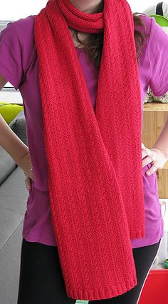 Free Pattern: Carrie's Scarf