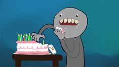 Funny Gifs You Realise You Are Old Only On Your Birthday...