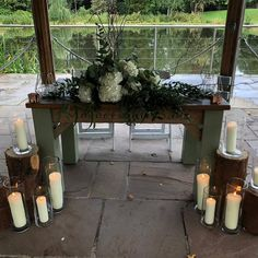 Another seriously stunning ceremony set up at The Venue with . A rustic woodland theme with stunning white hydrangeas and mixed eucalyptus. White Hydrangeas, Woodland Theme, Wedding Season, Wedding Flowers, Floral Design, Tables, Rustic, Top, Instagram