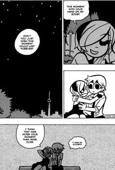Domesticated Daddy's Diaries: Scott Pilgrim: The Continuation Comic Books Art, Comic Art, Scott Pilgrim Comic, Bryan Lee O Malley, Toronto, Ramona Flowers, Vs The World, Bd Comics, Tonne