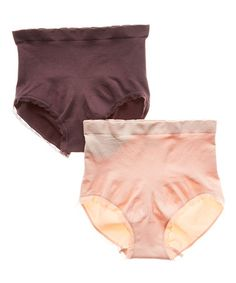 I own a bunch of these sets from this company-- I get them at TJMaxx and Marshalls! Blush & Root Seamless Shaper Briefs Set - Women #zulilyfinds