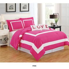 5-Piece Set: Hotel Juvi Comforter Collection - Assorted Colors