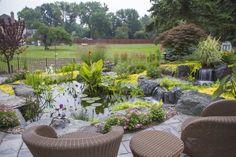 Beautiful backyard paradise