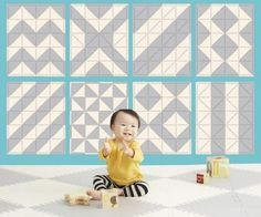 Playspot Geo from Skip Hop Make any pattern you can imagine with these wonderful floor tiles http://www.urbanbaby.com.au/epages/ecomm5000.sf/en_AU/?ObjectID=2351172#.WH7fkvl96M8