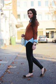 shirt and sweater combination