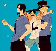 #Luffy #Ace #Sabo #ONEPIECE #ASL