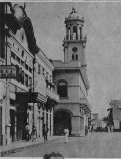 Calle Arzobispo Mariño,año 1940,Santo Domingo,República Dominicana.