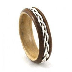 Simply Wood Rings -- I would love to renew my wedding vows with this ring.