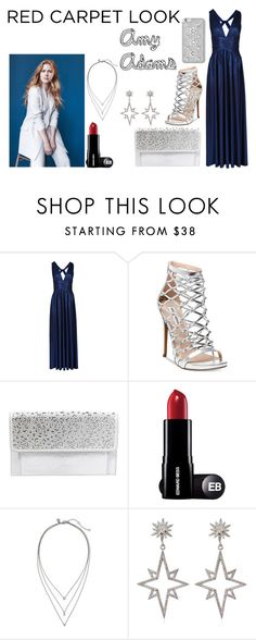 """""""Amy Adams"""" by paola200 ❤ liked on Polyvore featuring Steve Madden, Betsey Johnson, Banana Republic, Apples & Figs and MICHAEL Michael Kors"""