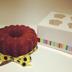 Baby bundt cake de lima limon