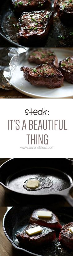 Steak: It's a Beautiful Thing