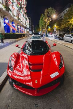 The LaFerrari was designed in-house to be a bold melody of classic & modern elements from their past supercars, creating a sleek, futuristic version of the ultimate Ferrari hypercar.