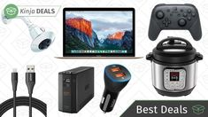 Monday's Best Deals: Mini Instant Pot, Smart Car Charger, Delta Shower Head, and More