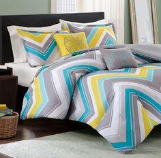Chevron Comforter Set For Bedroom Decorations | Decolover.net