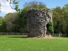 The ruined watchtower at Tutshill Before I Die, Castles, Dragons, Arch, Tower, Outdoor Structures, Garden, Plants, Longbow