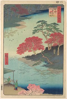 Utagawa Hiroshige   Inside Akiba Shrine at Ukeji   Japan   Edo period (1615–1868)   The Met