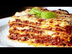 No te defraudará: lasagna original Bechamel, Moussaka, Lasagna Recipe With Ricotta, Pasta Casera, Good Food, Yummy Food, Latin Food, Cafe Food, Empanadas