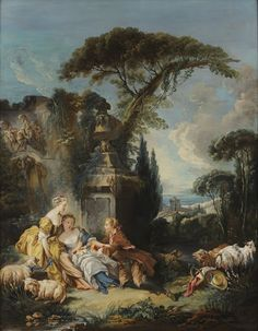 I piaceri della vita campestre // François Boucher 1730/1760