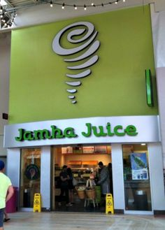 Jamba Juice- I could live here!!! I love smoothies from jamba!!