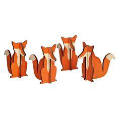Design Ideas fox decorations