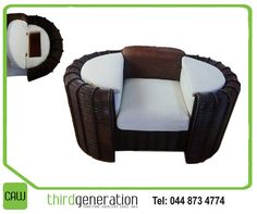 We just love our assorted range of furniture, such as this lovely chair! What makes this chair special, is underneath the armrest, there are compartments to store your favourite books or anything you want to. Available from CAW Third Generation. Generation Photo, Outdoor Furniture, Outdoor Decor, Your Favorite, Third, Cushions, Range, Lifestyle, Store