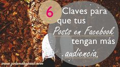6 Claves para mejorar tu audiencia en Facebook | Daphneé y Yolanda - Internet Marketers