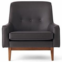 Happy Chic by Jonathan Adler Bleecker Leather Accent Chair - jcpenney