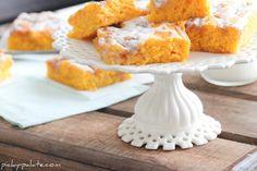 Cinnamon Roll Pumpkin Vanilla Sheet Cake...yum!