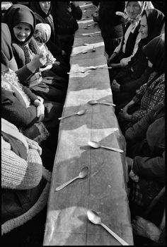 """valscrapbook: """" ardora: photo by Nikos Economopoulos, Dinner held after a funeral, Maramures, Romania, """" Modern Photography, Photography Projects, Film Photography, Black And White Photography, Street Photography, Minimalist Photography, Color Photography, Landscape Photography, Nature Photography"""