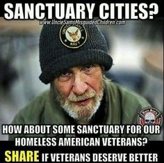 America First (@AmericaFirstCo) | Twitter  End all Sanctuary Cities and lets get all our Homeless American Veterans off the streets! They deserve better!  #AmericaFirst #AmericaFirstCoalition
