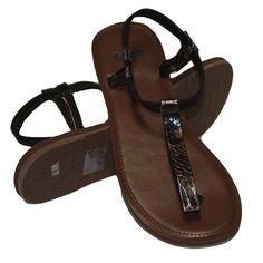 Vans Anglet Metallic Espresso Women's Sandals