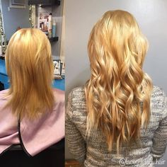 We love this transformation! ❤❤❤ #longhairdontcare #transformation  Repost from @laceydefauwhair I'm in love 😍#klix #klixhairextensions #hairextensions #longhair #transformation #michiganhairstylist #michigansalon @valorsalon