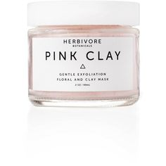 Pink Clay Exfoliating Mask Pink Clay Mask NYLON (291.830 IDR) ❤ liked on Polyvore featuring beauty products, skincare, face care, face masks, beauty, filler, clay face mask, face mask, exfoliating facial mask and exfoliating mask