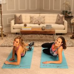 This killed me. Victoria Secret Top Models Full Body Workout - it is a GREAT 10 minute workout. Plies other ballet moves that will shred your legs! Plus has tons of other 10 minute videos