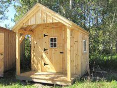 8' x 12' Nook. A garden shed available as diy shed plans for $14.95. #garden http://jamaicacottageshop.com/shop/garden-shed/ http://jamaicacottageshop.com/wp-content/uploads/pdfs/pdf8x12gardenshed.pdf