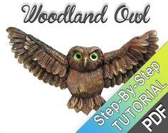 Woodland Owl Polymer clay tutorial Super by MyMandarinDucky