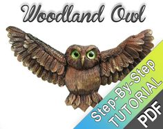 Woodland Owl  Polymer clay tutorial  Super par MyMandarinDucky