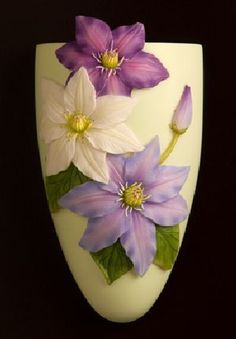 Clematis Wall Vase