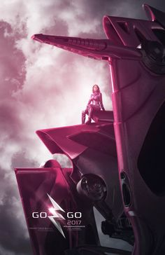 El Puffs. Poster de personajes #PowerRangers Ranger Rosa #GoGoPowerRangers #CharacterPoster