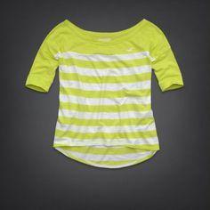 Camiseta Hollister Amarela HO2199