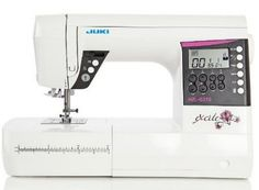 Juki HZL-G210 : A feature rich advanced sewing machine. The price also seems affordable.