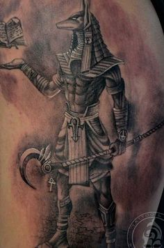 anubis tattoo - Google Search