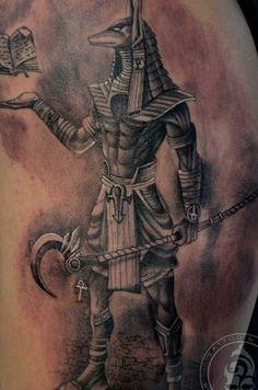 anubis tattoo - Google Search