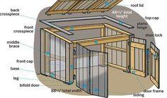 diy plans for a bin enclosure