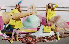 the mulberry campaign, ever so slightly kitsch david lachaplle would be proud