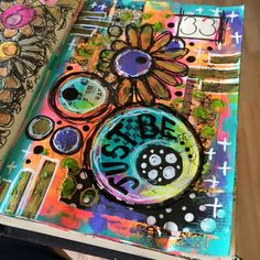 Tracy Scott's Art  - Random gluing and painting in my daily art journal 33/365.