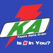 Kappa Alpha Order Sports Drink Theme!